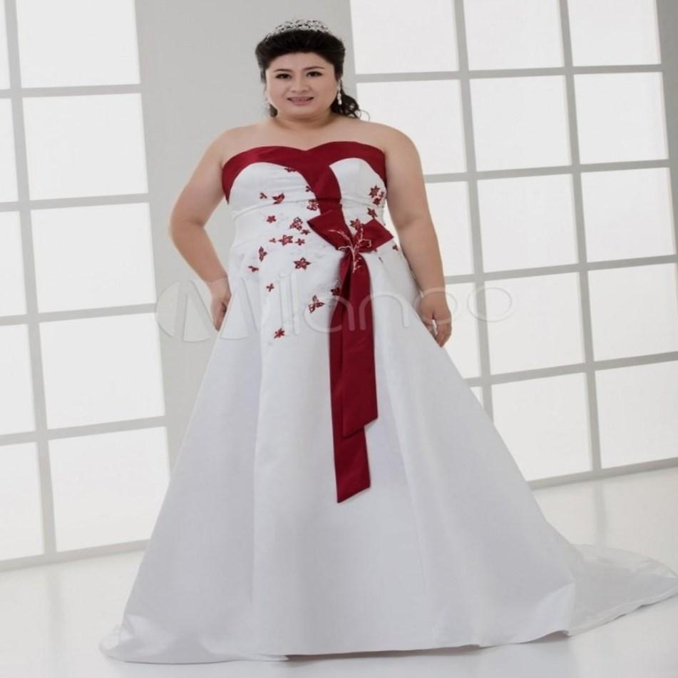 Wedding Dresses For Plus Size Red - Flower Girl Dresses
