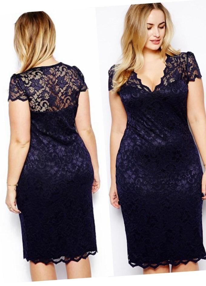 Plus size sexy evening dresses - PlusLook.eu Collection