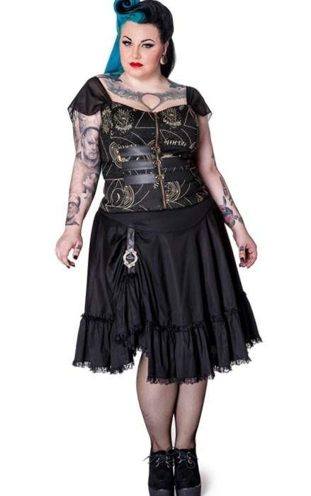 2017 Gothic Wedding Dress Halloween Victorian Gown Long Sleeve Corset Plus Size