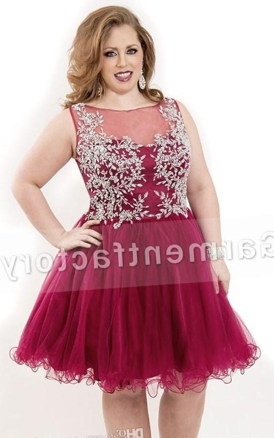 Plus size cheap homecoming dresses