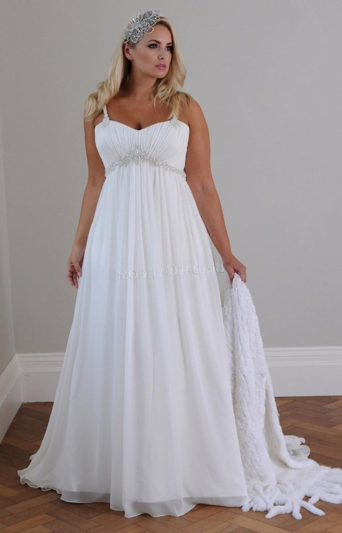 Plus Size Garden V Neck Wedding Dresses With Long Sleeves 2017 Ball Gowns Lace Appliques Short