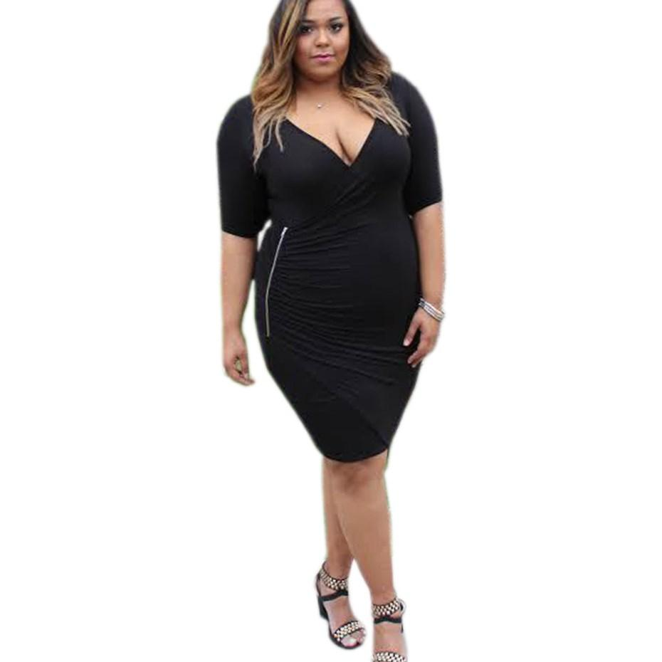 2017 new women big Size fashion womens sexy curve plus size dress lace patchwork xxxxl Brief