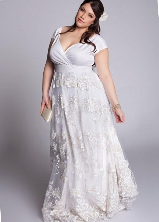 Plus Size Short Wedding Dresses Beach 2017 Tea Length Ivory Garden Tulle Applique Sleeveless Bridal Dress A-Line Strapless Ball Gowns Cheap Online with