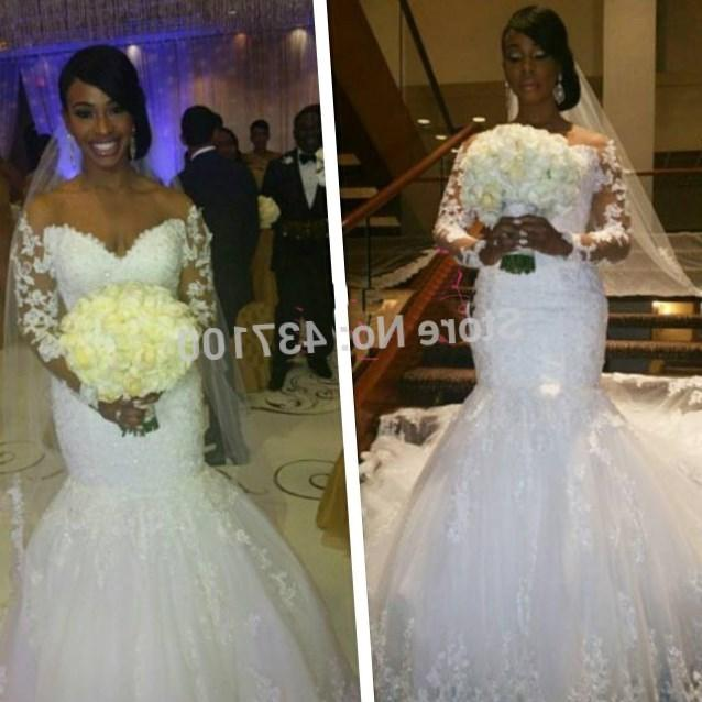 Wedding Dresses For   At China Mall Johannesburg : Wedding dress with long sleeves sexy sweetheart bridal gown vestidos