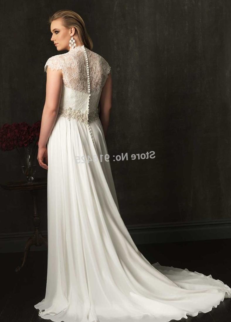 Plus size empire line wedding dresses uk junoir for Empire wedding dresses uk