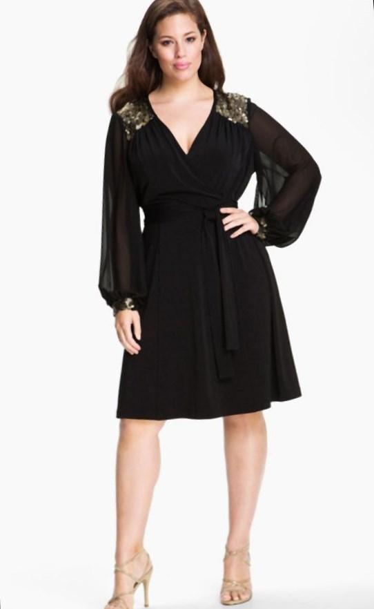 Beautiful Plus Size Dresses Sears Pluslookeu Collection With Wedding At