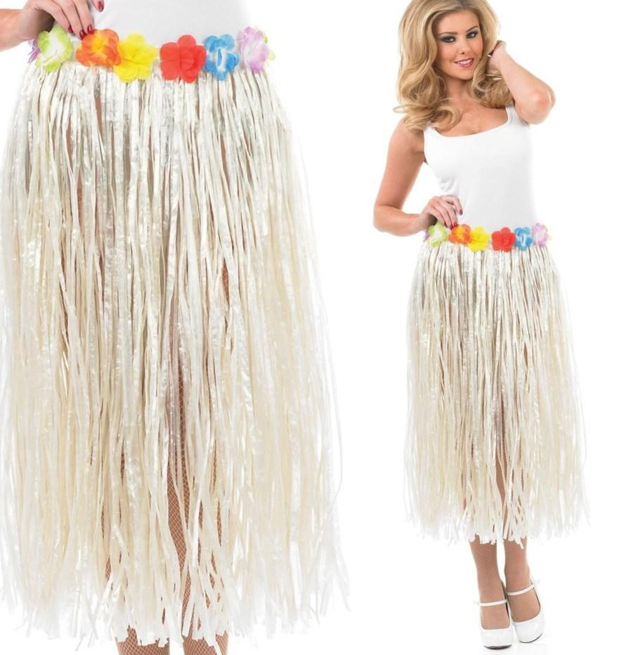 SEXY HAWAIIAN HULA LUAU PARTY GIRL - UK 8-14 - womens ladies fancy dress