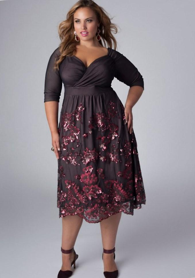 Black Semi Formal Dresses Plus Size 15 Gorgeous Plus