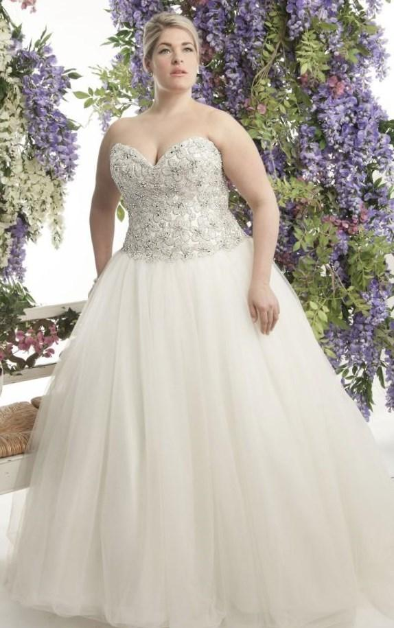 Plus size corset wedding dress collection for Corset for wedding dress plus size