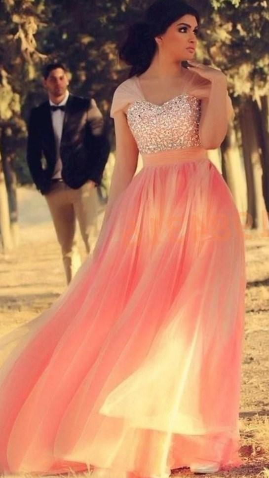 SSJ Plus Size Hot Pink Crystal Prom Dresses A Line Sweetheart 2017 Ankle Length Riva Dreamz