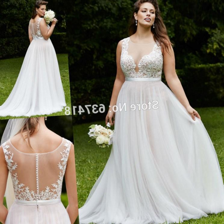 Cheap Plus Size Beach Wedding Dresses Collection