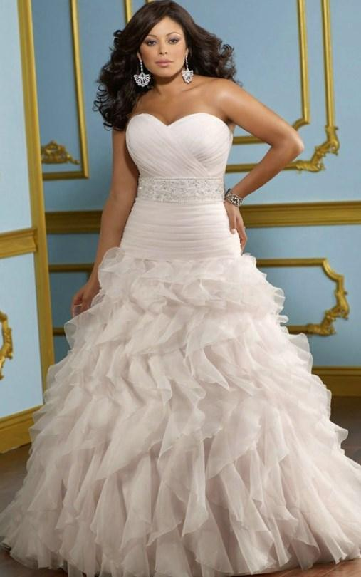 Plus Size Princess Wedding Dresses Collection