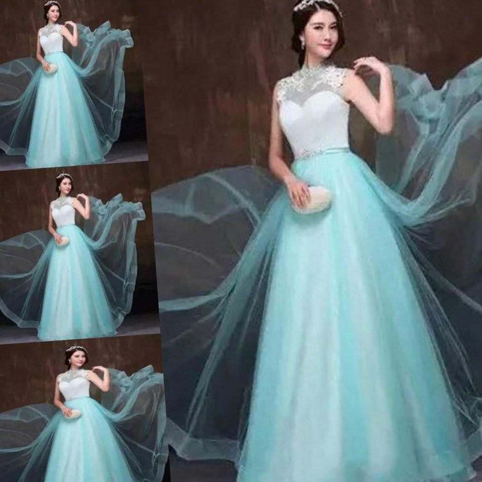 Fancy Teal Wedding Dress Model - Wedding Dress Ideas - projectsparta.org