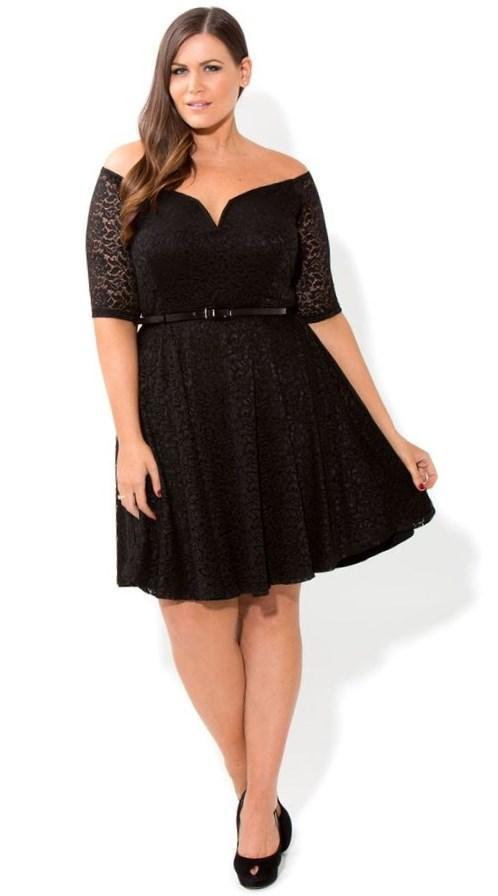 City chic plus size dresses