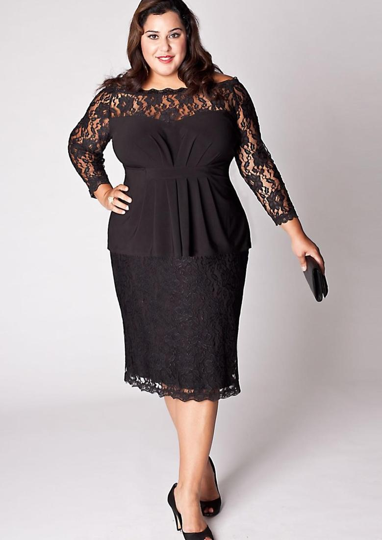 Fashion - Plus size women dress 2017