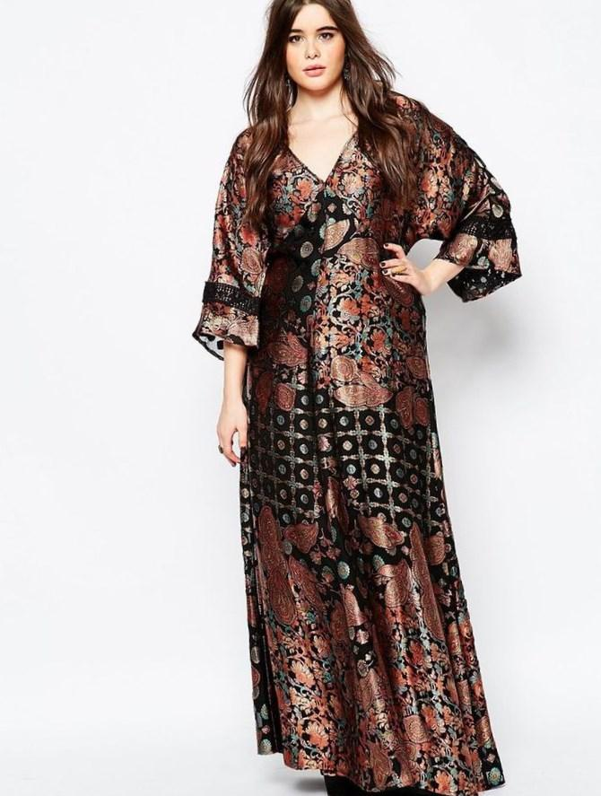 Kimono Plus Size Dress Keninamas