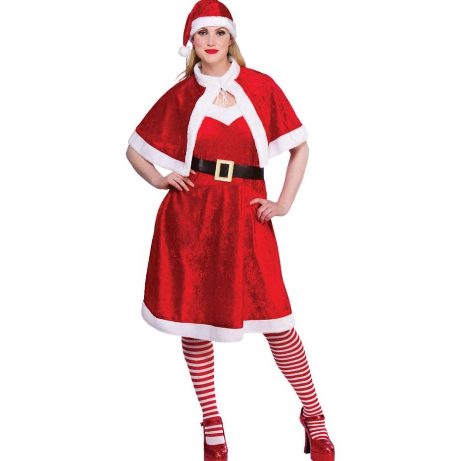 Plus size christmas fancy dress best costumes