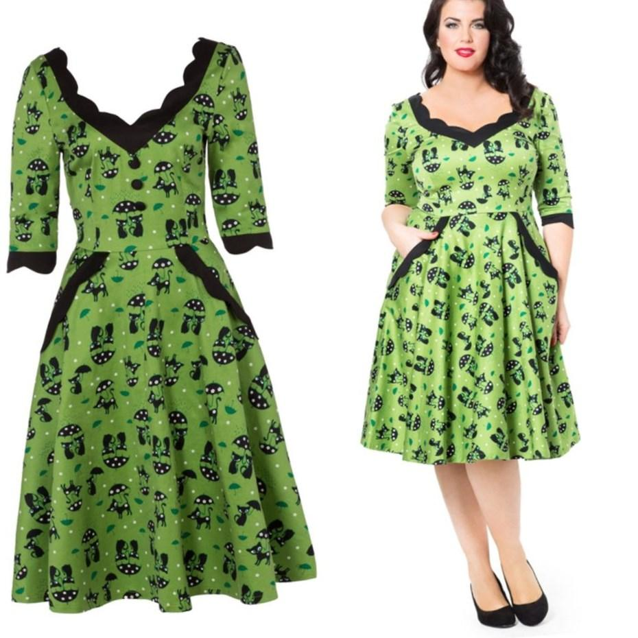 Pinup plus size dresses - PlusLook.eu Collection