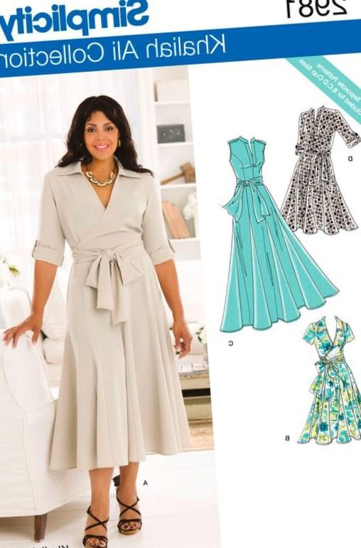 Plus Size Dress Pattern Pluslook Eu Collection