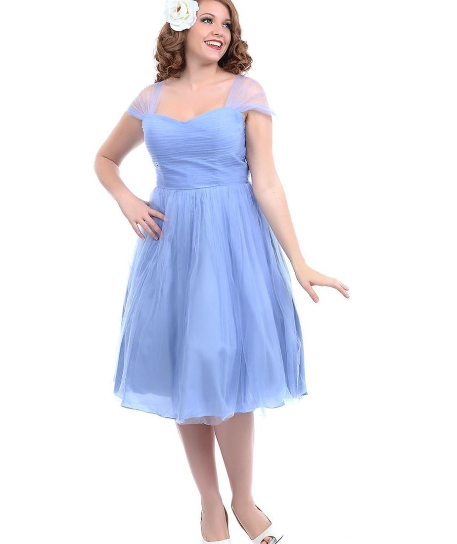 Plus size bridal party dresses pluslook collection easily the most flattering of our chiffon gowns kennedy blue chloe is perfect for the ombrellifo Choice Image