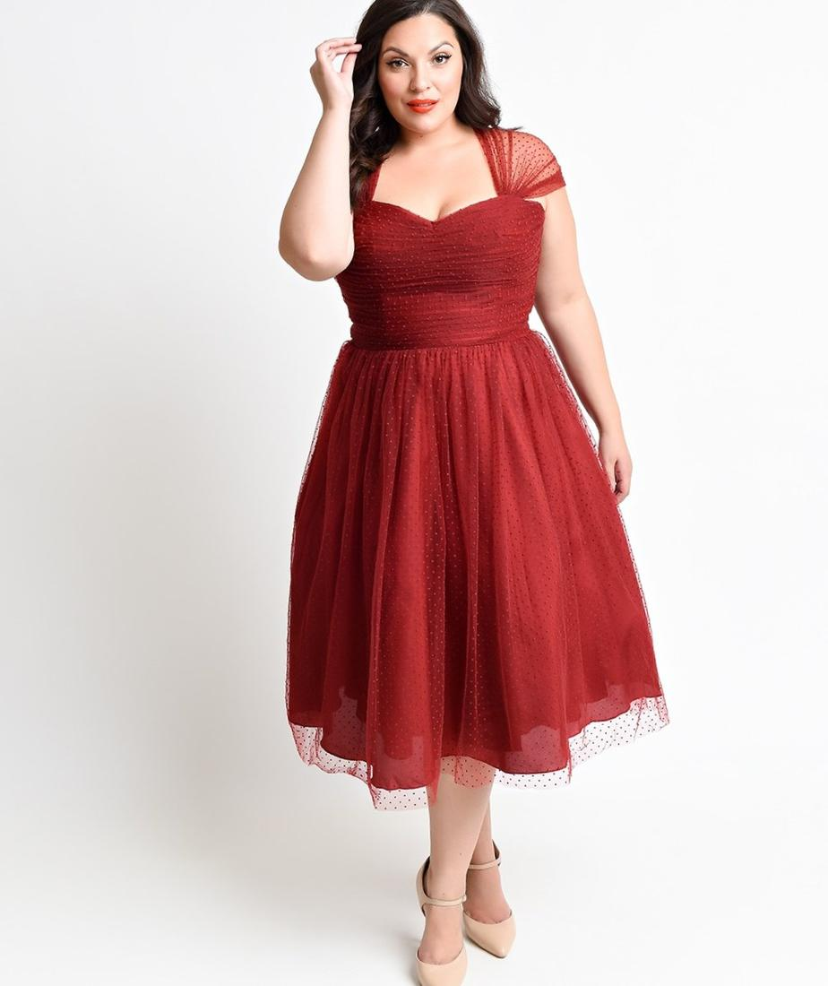 Plus Size Vintage Cocktail Dresses 77