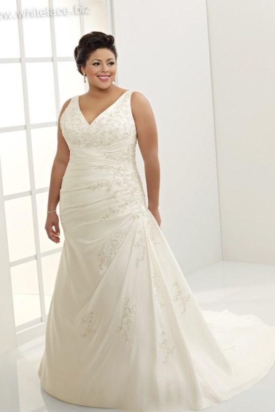 Wedding Dress Plus Size Patterns : Plus size wedding dress patterns pluslook eu collection