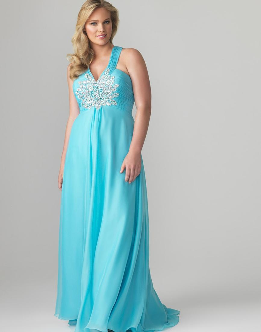 Modest plus size prom dresses - PlusLook.eu Collection