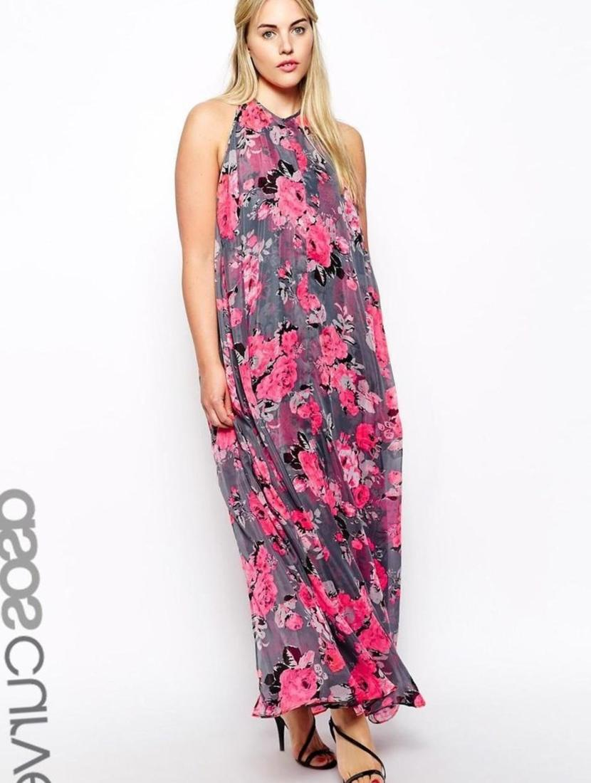 Eliza j plus dresses maxi