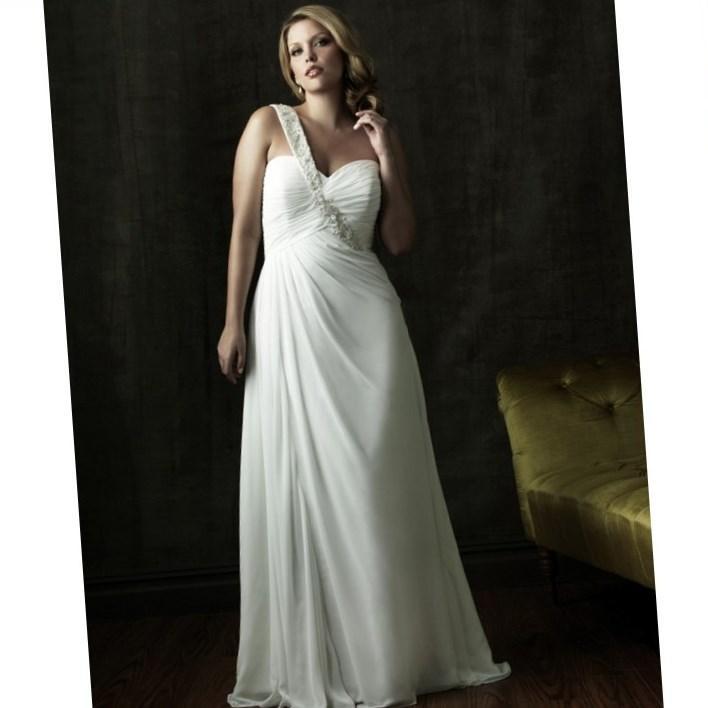 Plus Size Wedding Dresses For Mature Brides