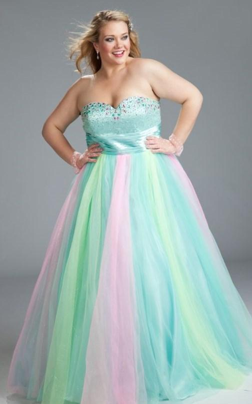 Latest Styles And Trends Of Plus Size Prom Dresses