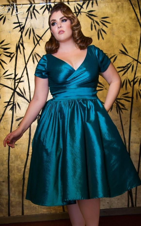 Pin Up Plus Size Dresses Pluslook Collection