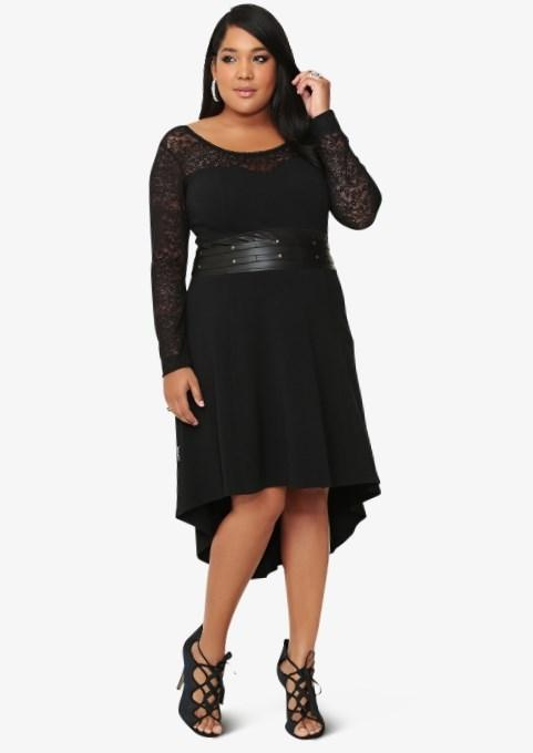 High low dresses for plus size - PlusLook.eu Collection