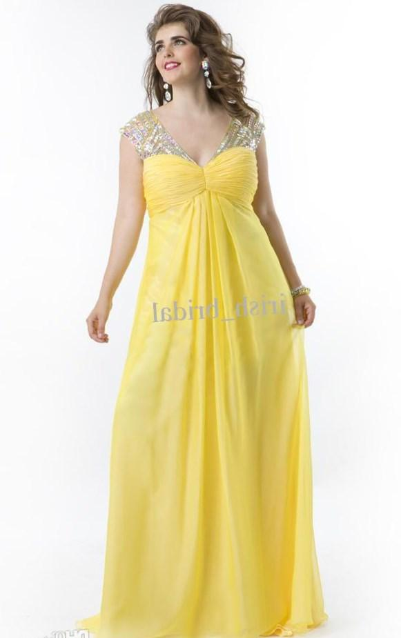 2017 Elegant Plus Size Mermaid Prom Dresses Vestidos de fiesta Yellow Lace Appliques Strapless Long Evening