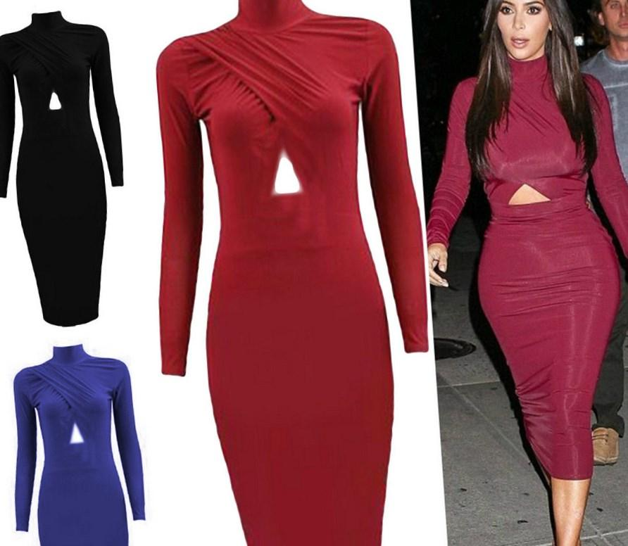 Bandage Dress Plus Size Pluslook Collection
