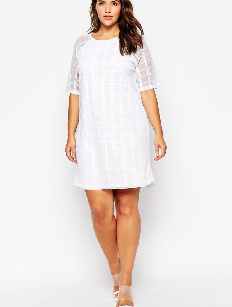 shirt dress for plus size - pluslook.eu collection