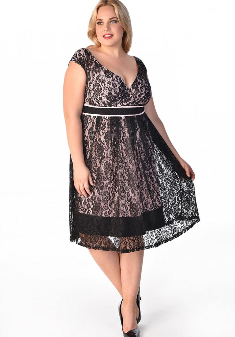 plus size attire little black get dressed