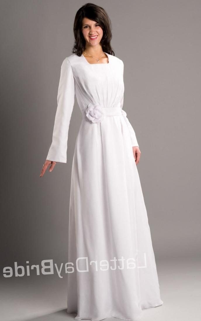Lds modest plus size wedding dresses eligent prom dresses for Lds plus size wedding dresses
