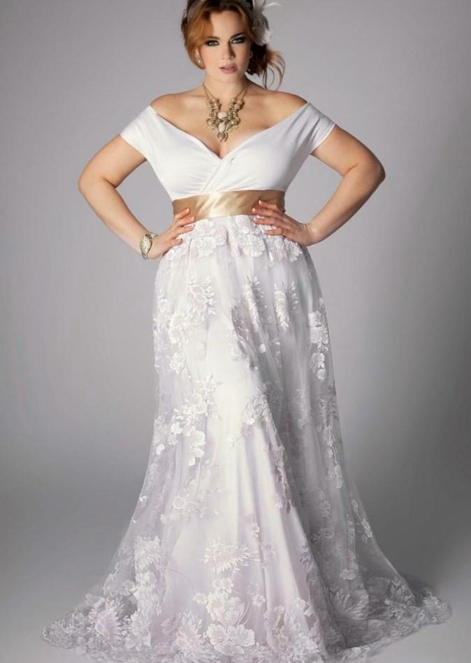 Celtic Wedding Dresses Plus Size Pluslook Eu Collection