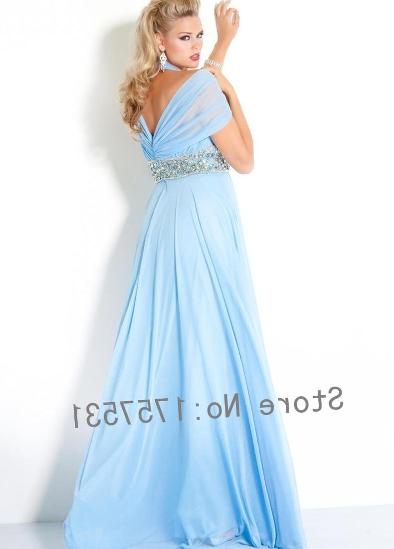 Plus size bridesmaid dresses light blue cheap wedding for Blue wedding dresses plus size