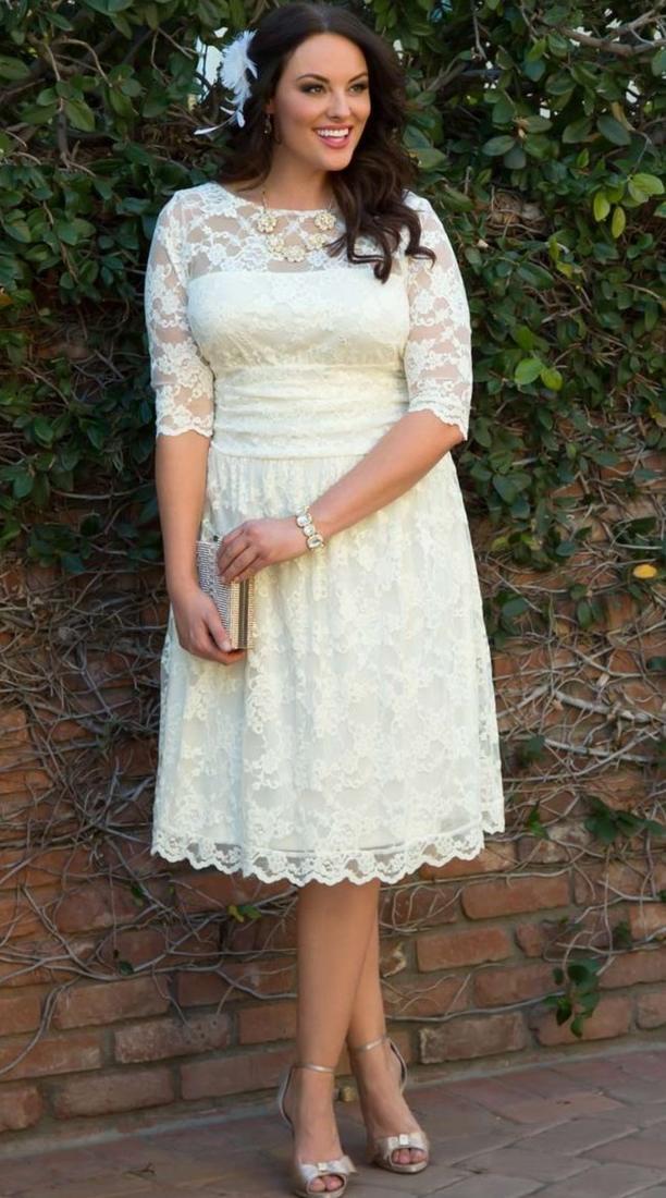 vintage plus size wedding dress pluslookeu collection