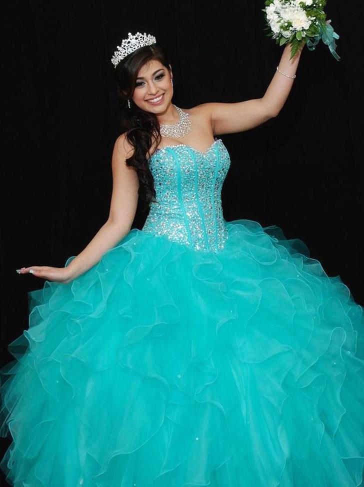 Sweet 16 plus dress