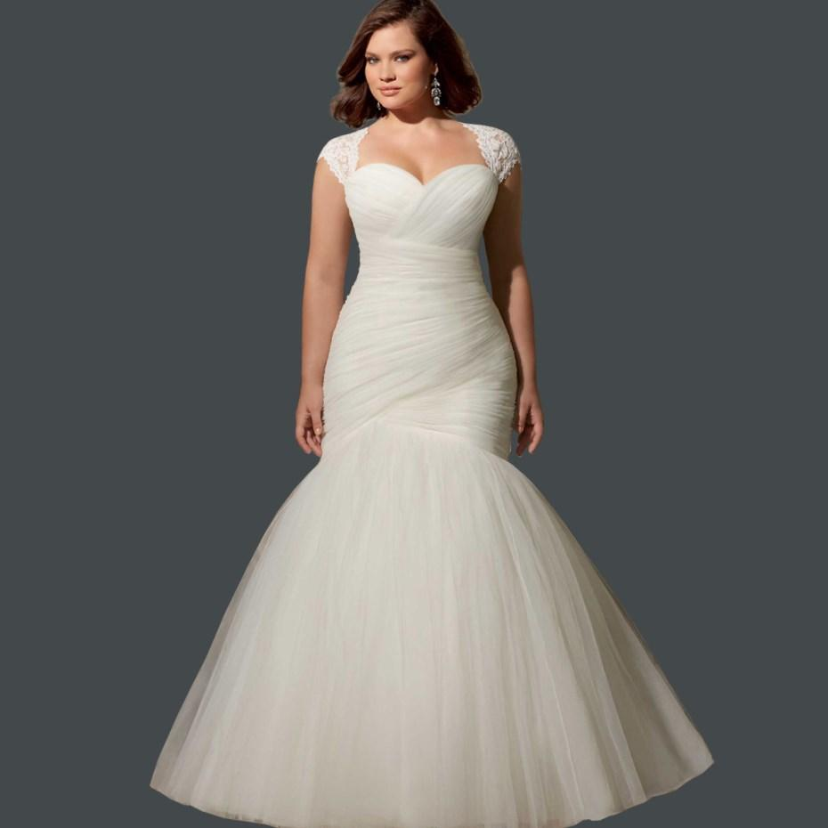 Bride dresses for plus size - PlusLook.eu Collection