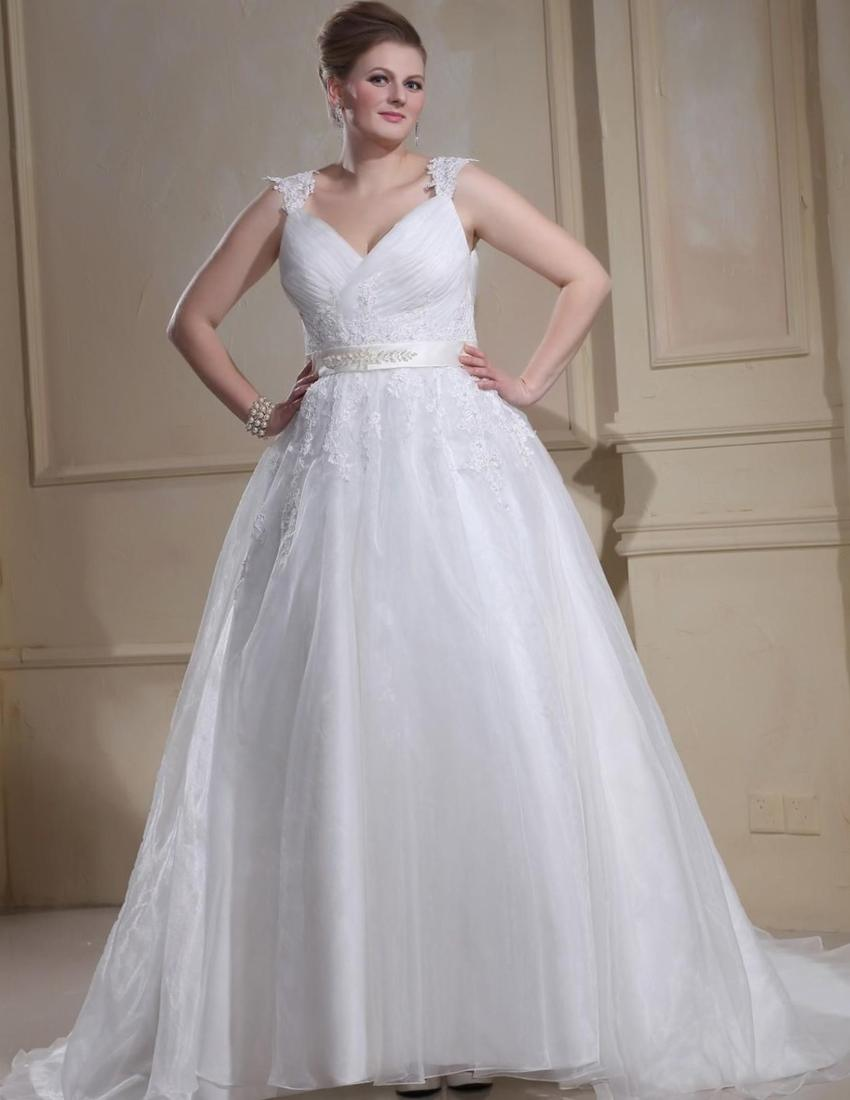 Extra plus size wedding dresses collection for Super plus size wedding dresses