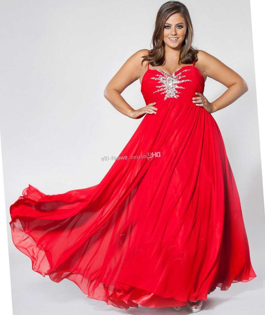 Red Formal Dress Plus Size Pluslook Eu Collection