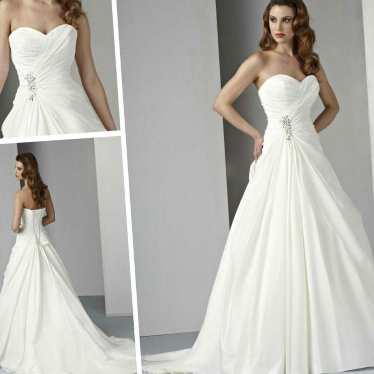 Cheap wedding dresses plus size for under 100 for Short white wedding dresses under 100