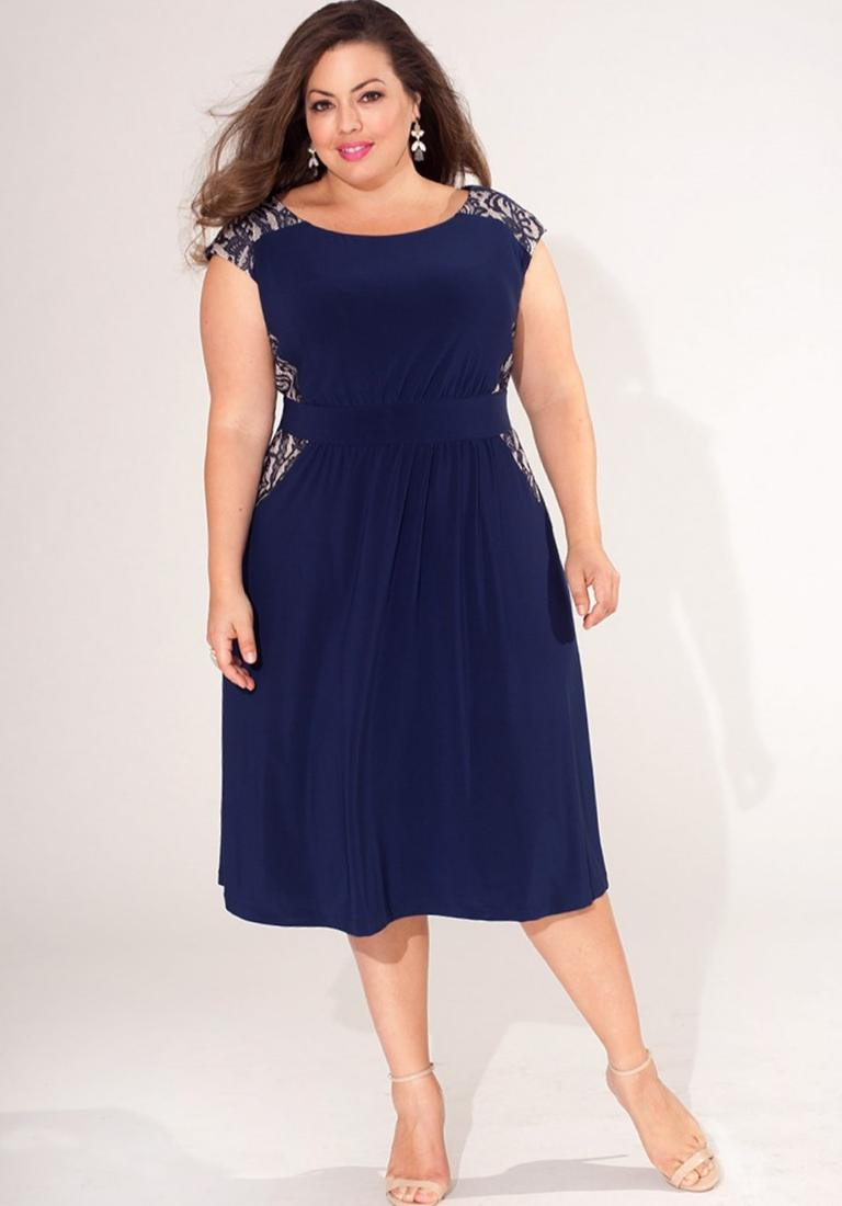 Long cocktail dresses plus size - PlusLook.eu Collection