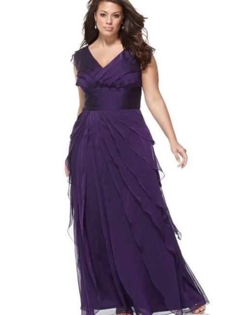 Plus size mother of the bride dresses macy 39 s bridesmaid for Macy wedding dresses mother of the bride