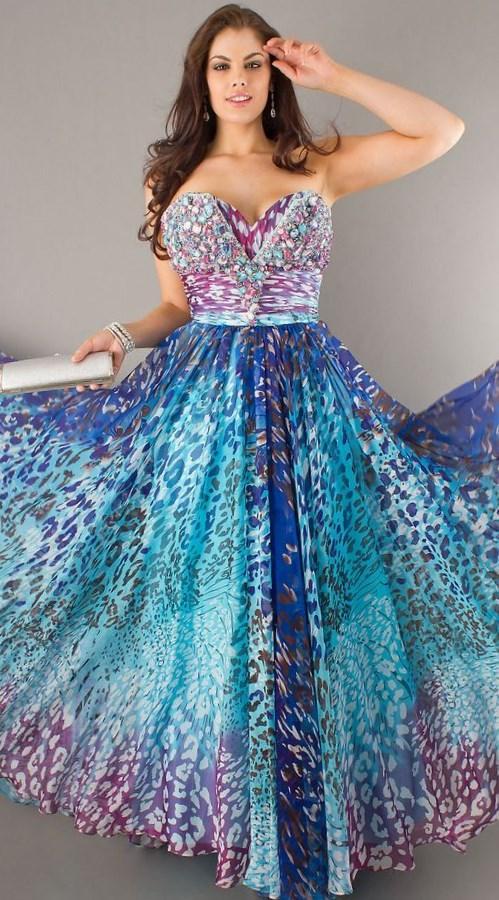 Best junior plus size prom dresses