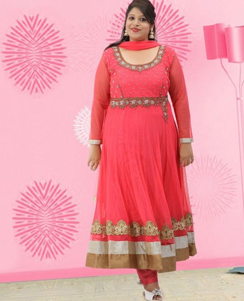 Plus size indian dresses - PlusLook.eu Collection