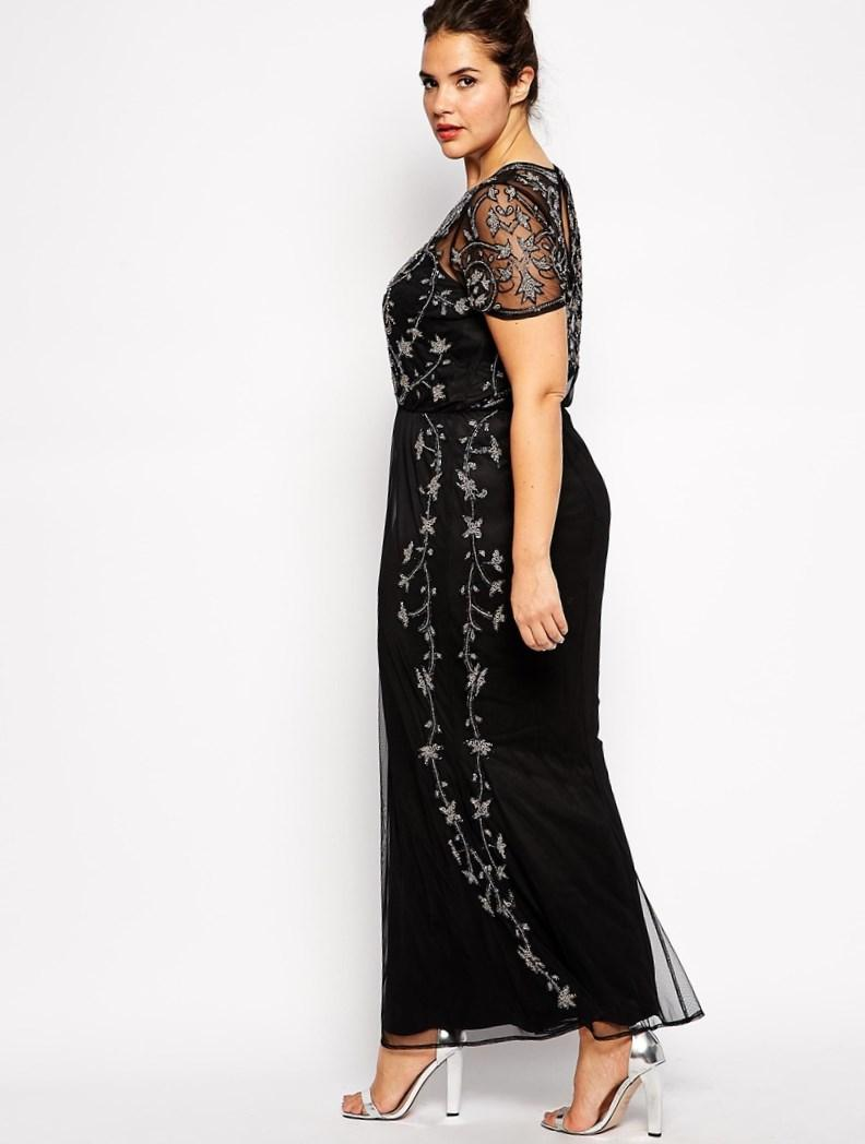 Plus Size Short Evening Dresses 121